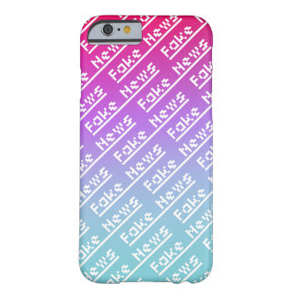 Cryptic Fake News Heading Barely There iPhone 6 Case