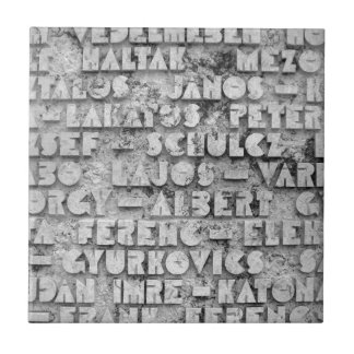 Cryptic Stone Font Tiles
