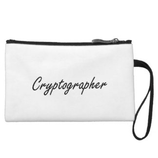 Cryptographer Artistic Job Design Wristlet
