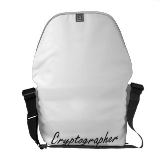 Cryptographer Artistic Job Design Commuter Bags