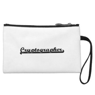 Cryptographer Classic Job Design Wristlets