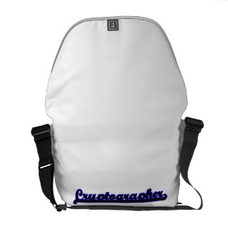 Cryptographer Classic Job Design Commuter Bags