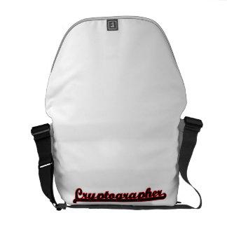 Cryptographer Classic Job Design Messenger Bag