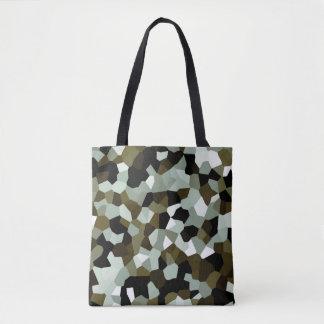 Crystal Abstract Pattern Tote Bag