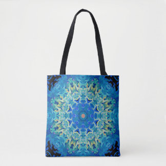 Crystal Abstract Tote Bag