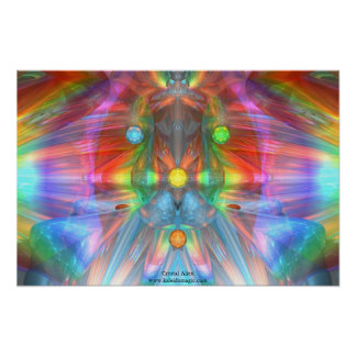 Crystal Alien Poster