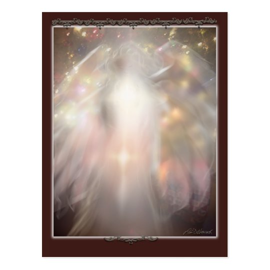 crystal angel ' Adora ' Postcard