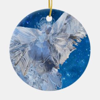 Crystal Angel Christmas Ornament
