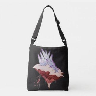 Crystal architect crossbody bag