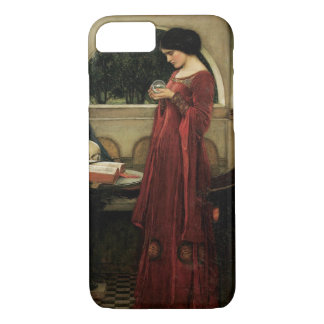 Crystal Ball by Waterhouse, Vintage Victorian Art iPhone 8/7 Case