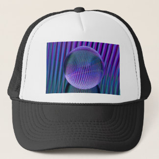 Crystal ball colours trucker hat