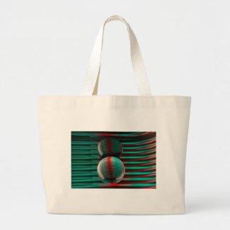 Crystal Ball Invert Large Tote Bag