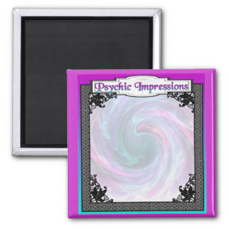 Crystal Ball!  Psychic Impressions and Dreams Square Magnet