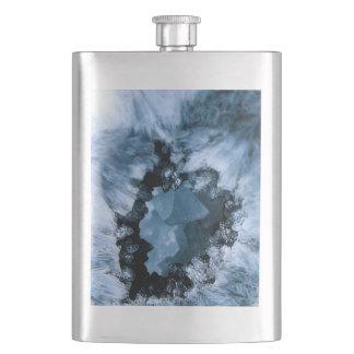 Crystal Blue Fantasy Hip Flask