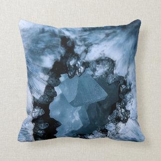 Crystal Blue Fantasy Throw Pillow