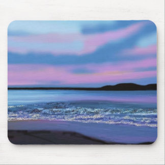 Crystal Blue Water Mouse Mat