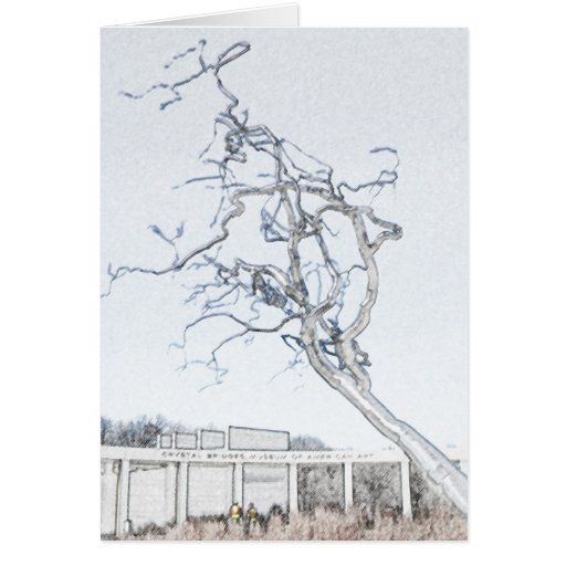 Crystal Bridges Museum of American Art Greeting Card