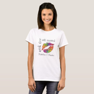 Crystal Candy Kisses: it started with a kiss T-Shirt