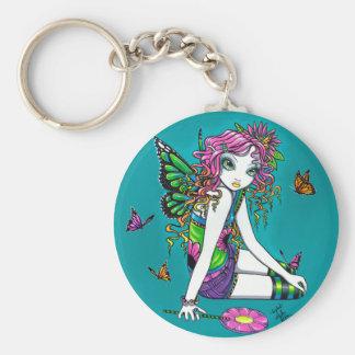 Crystal Candy Rainbow Fairy Keychain