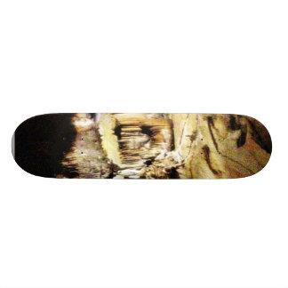 Crystal Caves In Dark Custom Skate Board