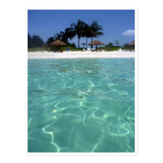 crystal clear bahamas waters postcard