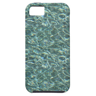 Crystal Clear Blue Water Surface Reflections iPhone 5 Cases