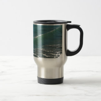 Crystal Clear Wave Movement Stainless Steel Travel Mug