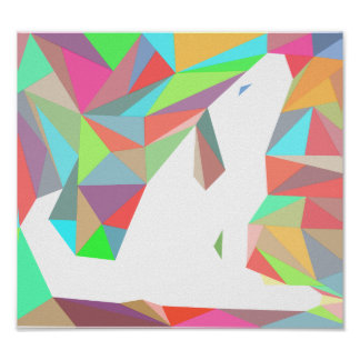 Crystal Colorful Doggy Print