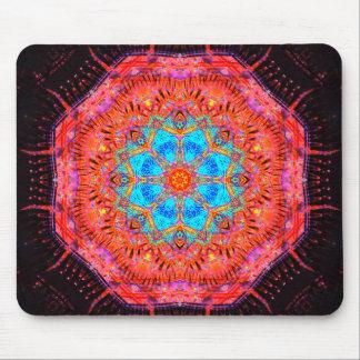 Crystal Core Processor Mandala Mouse Mat