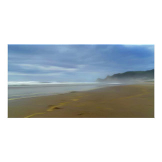 Crystal Cove Digital Art Beach 8 x 4 card Picture Card