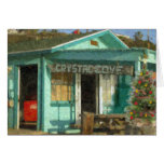"""Crystal Cove Holiday Shack"" Cards"