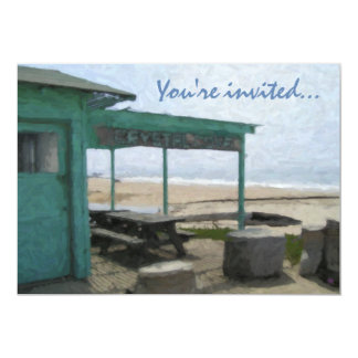 Crystal Cove Party Invitations