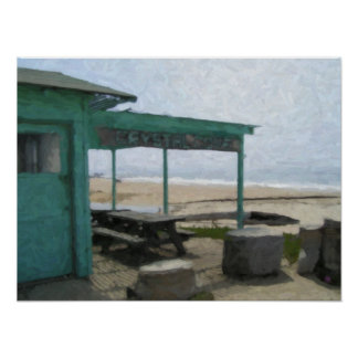 """""""Crystal Cove Shack"""" Poster"""