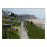 """""""Crystal Cove Walkway"""" Note Cards"""