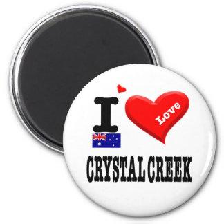 CRYSTAL CREEK - I Love Magnet