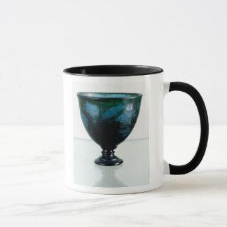 Crystal cup, 'Par une Telle Nuit', 1894 Mug