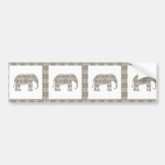 CRYSTAL Elephant DIY Template NVN447 LARGE kids Bumper Stickers