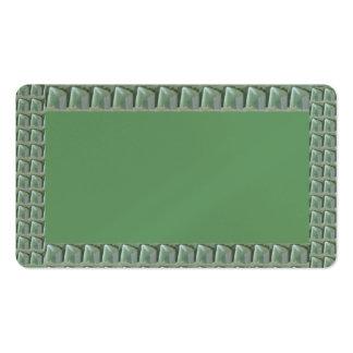 Crystal Emerald- MicroPhotography Tile NavinJoshi Business Card Templates
