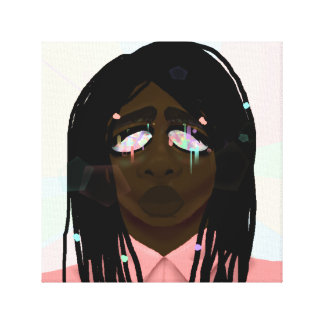 Crystal Eyes Canvas Print