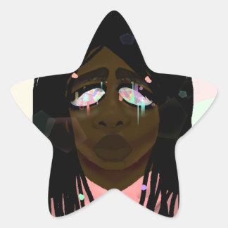 Crystal Eyes Star Sticker
