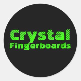 Crystal Fingerboards Sticker