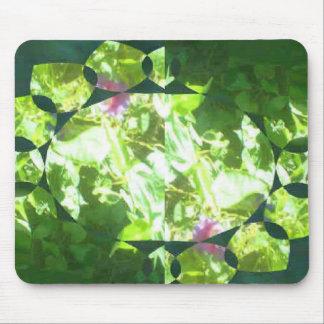Crystal Flowers Mousepad