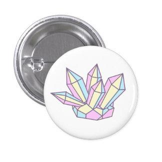 Crystal gem pin