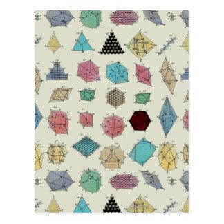 Crystal Geometry Postcard
