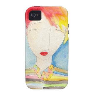 Crystal girl series, Maya iPhone 4 Case