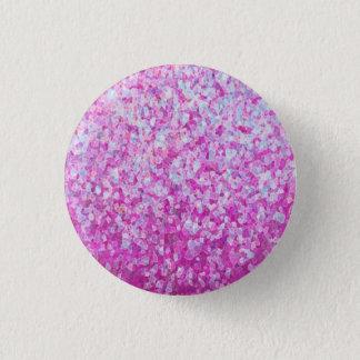 Crystal Glitter Artwork 3 Cm Round Badge