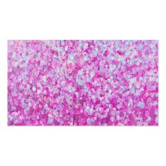 Crystal Glitter Artwork Pack Of Standard Business Cards