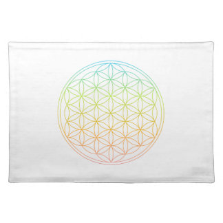 Crystal Grid Cloth - Flower Of Life Placemat