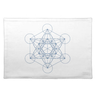 Crystal Grid Cloth - Metatron's Cube Placemat