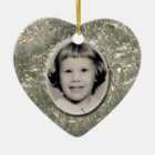 Crystal Heart Memorial Ornament Customisable